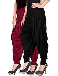 NV Trendz Women's Well Designed Lycra Dhoti Pant Patiyala Dhoti Pant Salwar Pant Harem Pant For Women And Ladies... - B079MGHRGN