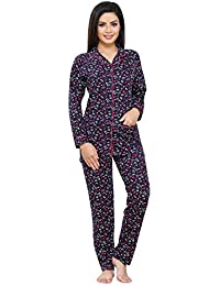 6d85a4a167 Boring Dress Hosiery (Cotton Knitted) Women's Shirt and Pajama Set/Night  Suit/