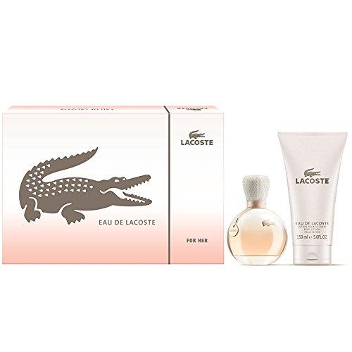 Lacoste Eau De femme/woman, Set (Eau de Parfum 30 ml + Körperlotion 100 ml Lacoste-parfüm-geschenk-set