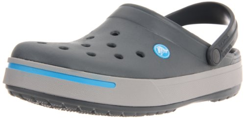 Crocs Crocband II Clogs charcoal-light grey - 38-39