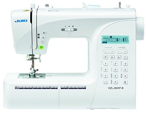 Juki HZL-80HP-B Machine à Coudre Electronique, Métal, Blanc, 40 x 18,8 x 29 cm