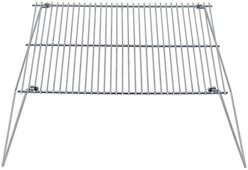 MFH FoxOutdoor Grillrost, Stahl, klappbar, 38 x 25 cm
