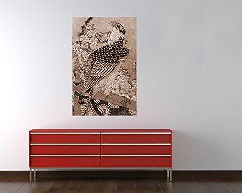 Bilderdepot24 pajetée peint photo autocollant - autoadhésif Katsushika Hokusai - Vieux Maître Art Peinture