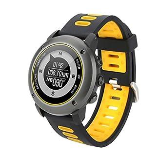 Deporte al Aire Libre Inteligente GPS del Reloj del Reloj del Deporte IP68 a Prueba de Agua Natación rastreador de Ejercicios Inteligente del Reloj del Ritmo cardíaco