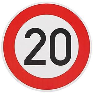 ORIGINAL Verkehrszeichen 20 Geburtstagsschild Verkehrsschild Geburtstag Schild Straßenschild