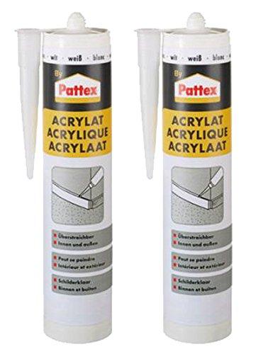 pattex-2-x-cartucho-310-ml-acrylat-blanco-masilla-projector-best-integrado-para-interior-y-exterior