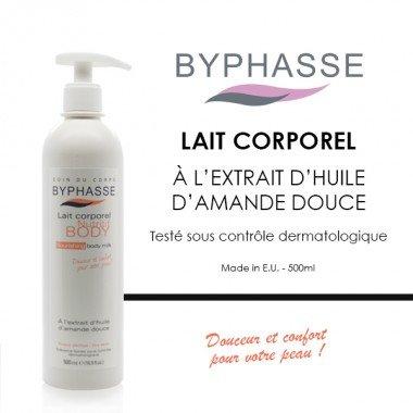Byphasse - Lait corporel Nutri-intense à l'huile d'amande douce 500ML