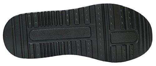 GIBRA Sportschuhe, sehr leicht und bequem, schwarz/neongrün, Gr. 36-41 Schwarz/Neongrün