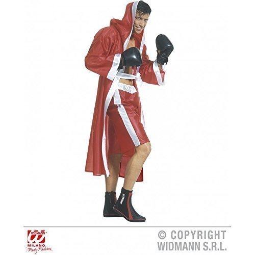 Lively Moments Kostüm Monumentaler Boxer / Boxmantel / Boxerkostüm in Rot Gr. S = 48