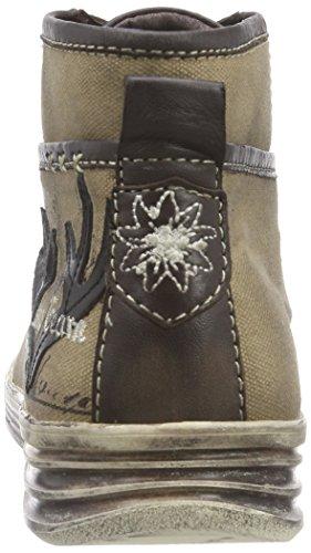 Stockerpoint Sneaker 1295, Herren Hohe Sneakers, Braun (Braun Vintage), 46 EU - 2