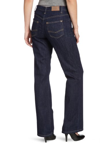 Eddie Bauer 24617123 - Jeans - Bootcut - Femme Bleu - Blau (Blue Topaz)