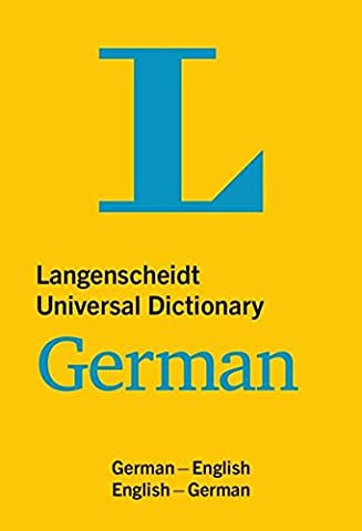 Langenscheidt Universal Dictionary German: Deutsch-Englisch/Englisch-Deutsch (Langenscheidt Universal Dictionaries)