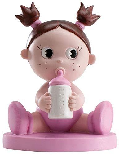 dolce idea Süße Idee Mickey Figur Taufe Maße für Getränke: 11 x 8 cm, Tortendekoration für Mädchen, Taufe