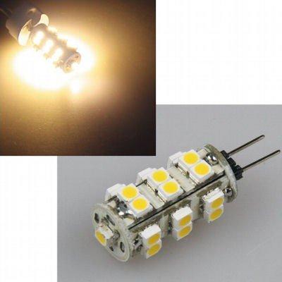 LED 1,5W Stiftsockellampe G4 länglich mit 25 SMD-LEDs warmweiß von ChiliTec bei Lampenhans.de