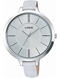 Lorus Ladies White Strap Watch