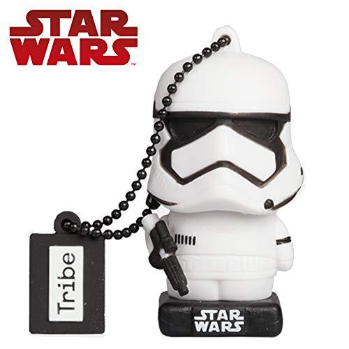 Tribe Star Wars 8 Stormtrooper USB Stick 32 GB Speicherstick 2.0 High Speed Pendrive Memory Stick Flash Drive, Lustige Geschenke 3D Figur, USB Gadget aus Hart-PVC mit Schlüsselanhänger