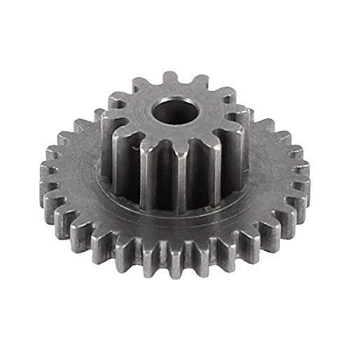 M0.5x25T + M0.6x10T 2,5mm Durchmesser Rod Loch Geschwindigkeitsreduzierung Motor Getriebe