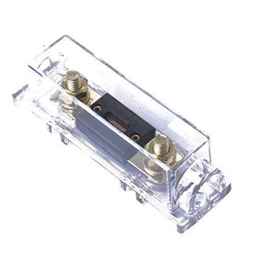 300a Car Audio (Fansport Sicherungshalter Large Size Inline Sicherungshalter Sicherungsblock Mit 300A Sicherung FüR Car Audio)
