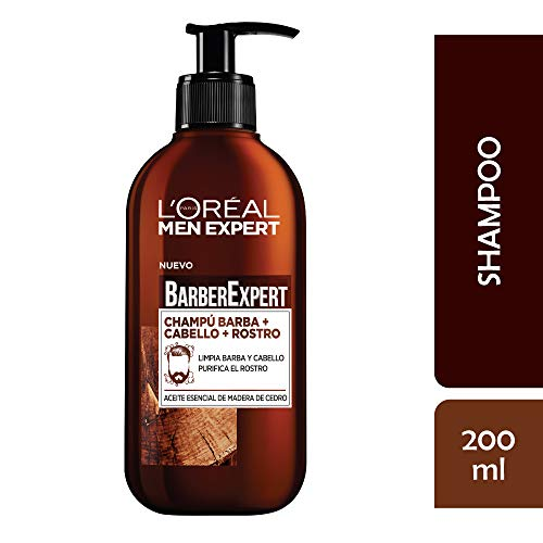L'Oréal Paris Men Expert Barber Club- Champú 3 1