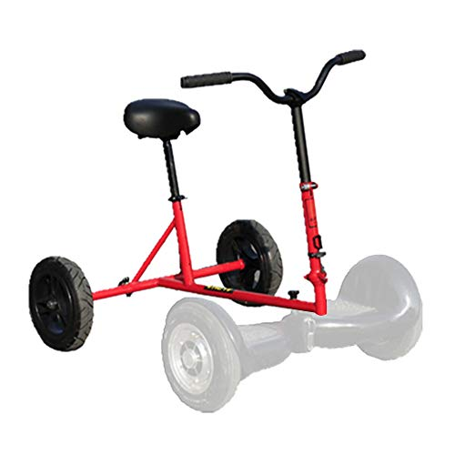 XULONG Scooter Elettrico, Hoverkart Kart Kit di conversione Hovercart Regolabile, Staffa ausiliaria Tre Veicoli a deriva a Quattro Ruote modificato Bambini Adulti Universale