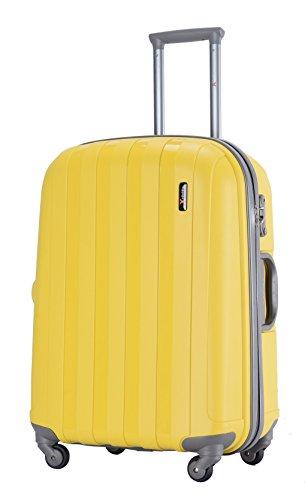 LuggageX Koffer-Set gelb gelb 55,9 cm (22 zoll)