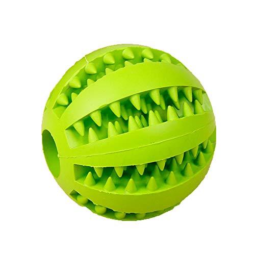 SONGYANG Haustier Hund Spielzeug sauber Zahnkugel Großhandel Teddy Welpen Dekompression elastischen Gummiball Hundespielzeug Haustierspielzeug,Green -