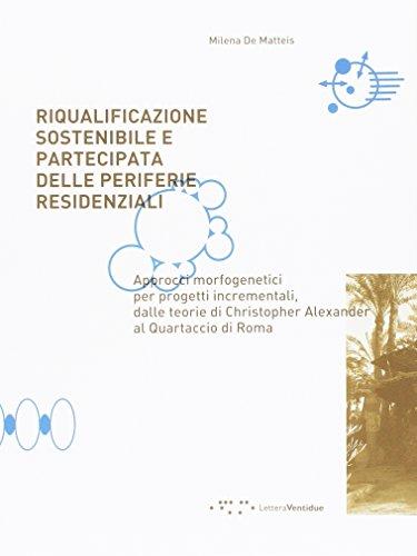 Riqualificazione sostenibile e partecipata delle periferie residenziali