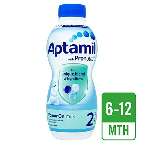 Preisvergleich Produktbild Aptamil 2Folgen auf Milch 6+ Mths Ready to feed 1L