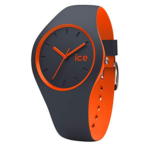 Ice-Watch - ICE duo Ombre orange - Blaue Herrenuhr mit Silikonarmband - 001494 (Medium)