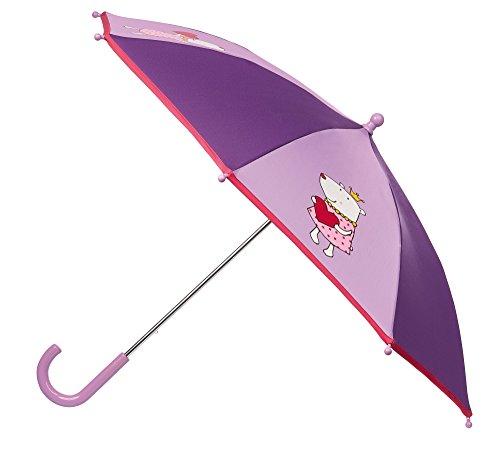 sigikid, Mädchen, Regenschirm mit Eisbären-Prinzessin, Lila, 24944
