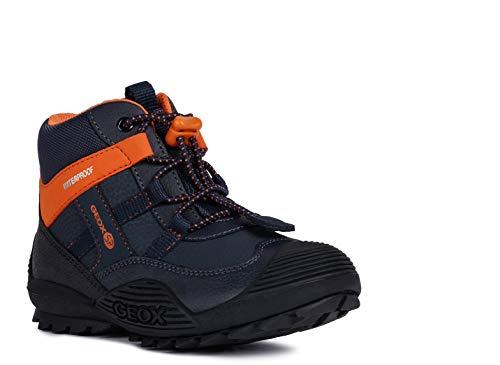Geox Niños Botas de Invierno ATREUS Boy WPF, Chico Botas,Zapatos para niños al Aire Libre,cálidos...