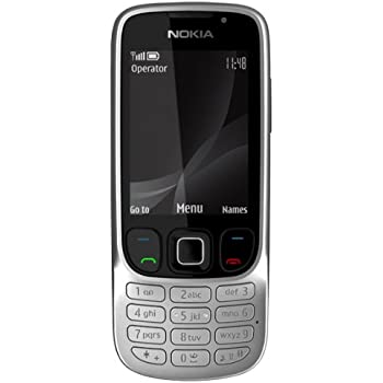 nokia 6303i classic sim free mobile phone black amazon. Black Bedroom Furniture Sets. Home Design Ideas