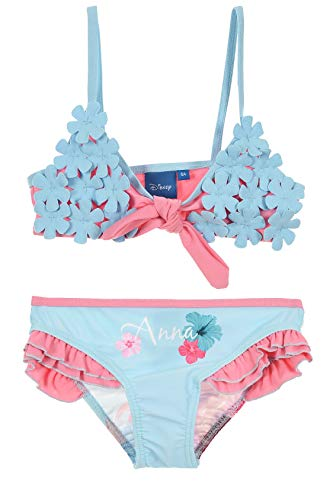 Disney Frozen Mädchen Badeanzug Bikini (Mädchen Frozen Bikini)