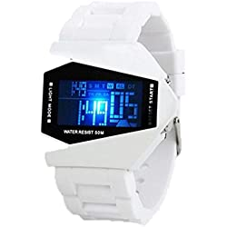 Highdas Colorful Couple Student Fashion Personality Waterproof Multifunction Alarm Clock Watch 10 Colors