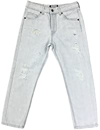 Nicebrand - Jeans - Boyfriend - Femme blanc Bianco
