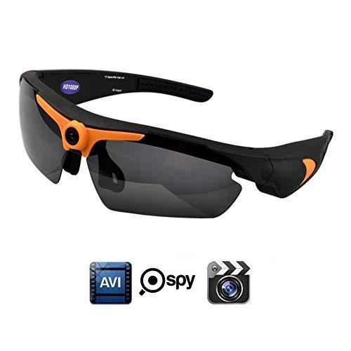 OOZIMO Full HD 1080P Sonnenbrille Kamera, Weiter Winkel Mini Kamera Mit Versteckte Kameras Für Draußen Sport