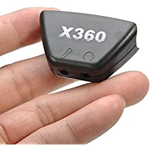 3,5mm Mikrofon Kopfhörer Klinkenstecker zu 2,5mm Audio-Adapter Konverter für Microsoft Xbox 360Controller Headset Kopfhörer