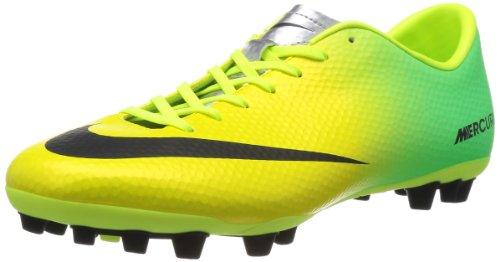 Nike Schuhe Herren Mercurial victory iv ag Vibrant yellow/black-neo lime, Größe Nike:9