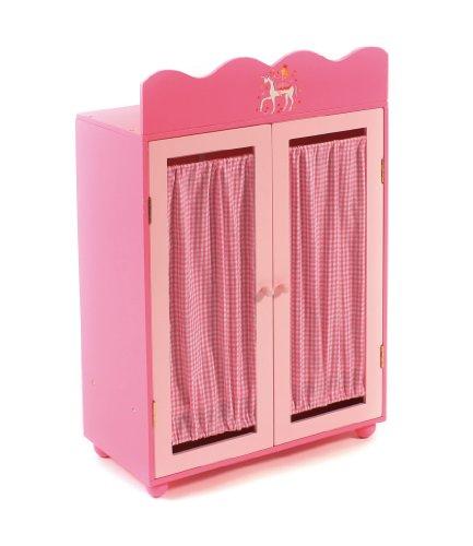 Bayer Chic 2000 509 93 - Armadio per bambole, mobilio per bambole, colore: Rosa