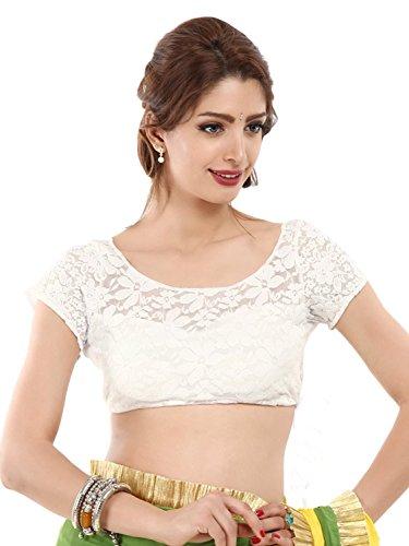 Saree Blouse for women Minimall women Black Cotton Readymade Saree Blouse
