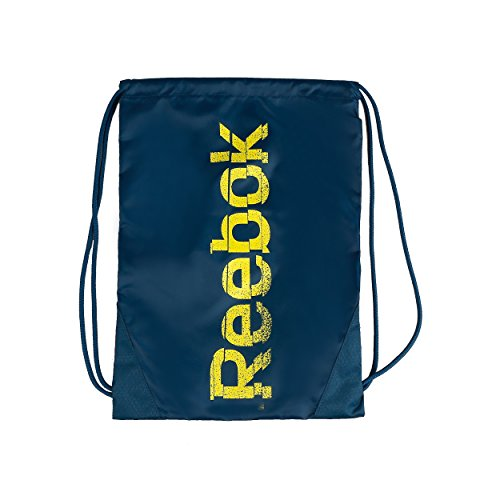 Reebok Se Gymsack - Mochila de cuerdas, color azul, talla única