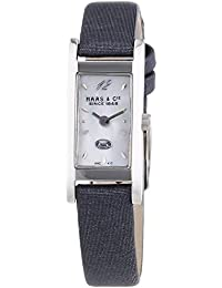 Haas & Cie Damen-Armbanduhr Fina Leder Analog Quarz KHC417ZFA