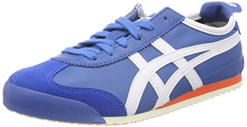 Asics Mexico 66 Sneaker Unisex Adulto Blu Classic Blue/White 4201 y3B