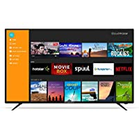 CloudWalker 138 cm (55 Inches) Full HD QLED Smart TV Cloud TV 55SFX2 (Black)