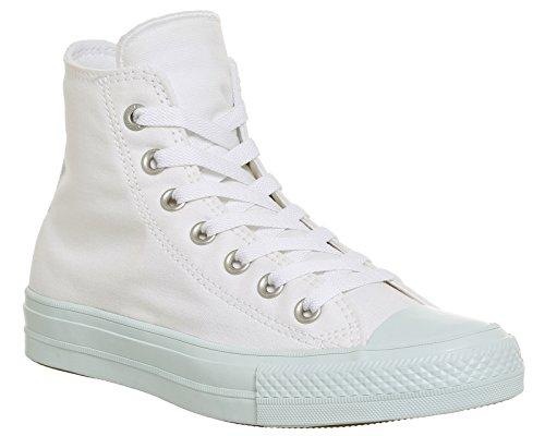 Converse All Star Ii, Chaussons montants mixte adulte blanc bleu
