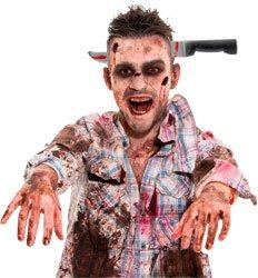 Folat Haarreif Blutiges Messer