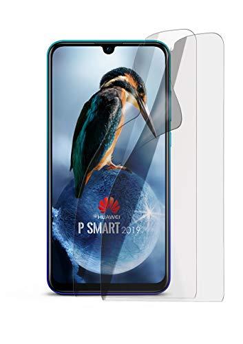 2X Huawei P Smart (2019) | Schutzfolie Matt Bildschirm Schutz [Anti-Reflex] Screen Protector Fingerprint Handy-Folie Matte Bildschirmschutz-Folie für Huawei Nova Lite 3 Bildschirmfolie