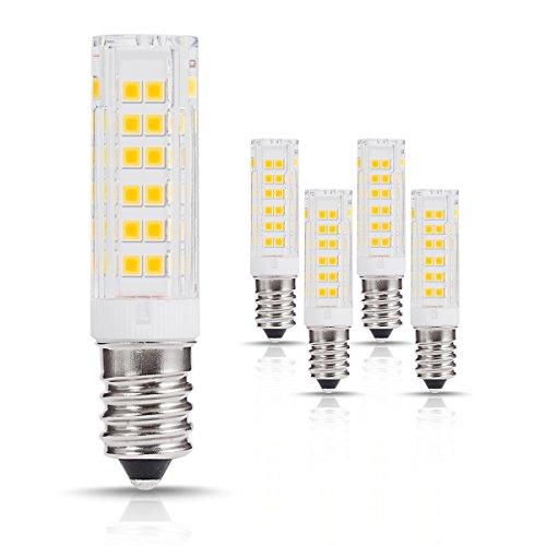 LOHAS® 7W E14 LED Lampe, Ersatzfür60W Halogenlampen, 500lm, 3000K, 360°Abstrahlwinkel, LED Leuchtmittel E14, LEDLampe, LED Birnen, 220-240V AC