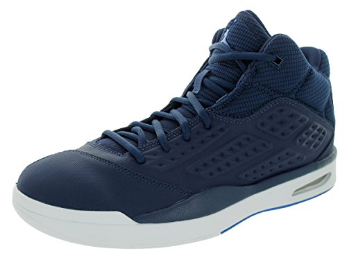 Nike Jordan New School Chaussures de Sport Homme Multicolore - Azul / Blanco (Midnight Navy/Soar-White)