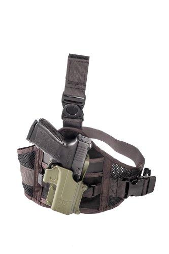 Drop Leg Erweiterung Cordura Oberschenkelgurt für all FOBUS Paddle Holster & Taschen - EXND FOBUS + Best Security Gear Magnet (Pistole Swat-team)